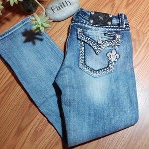 Denim - Miss me boot cut jeans